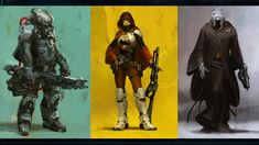 destiny game art | Destiny's New Character Development Video and Concept Art ...