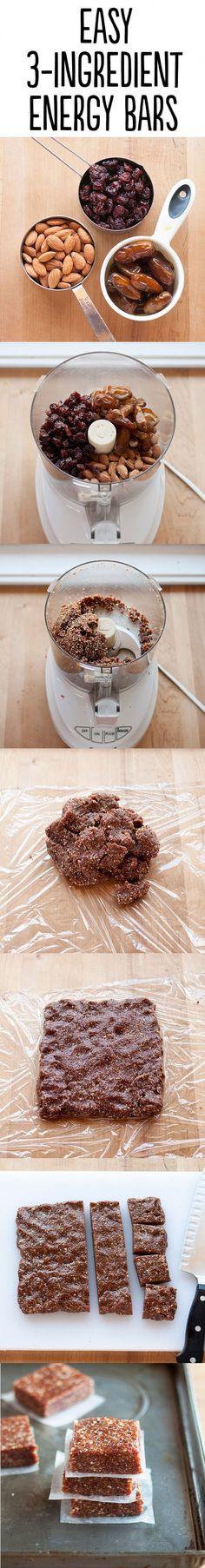 Ontbijtrepen met rozijnen, dadels en noten. Geen oven nodig, alleen een blender!