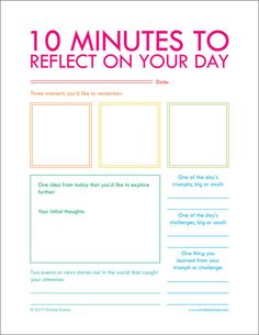 Printable guided journal pages for new and experienced journalers who love the idea of regular journaling, but just need a little nudge to get started. Stress Management, Journaling, Evernote, Coping Skills, School Counseling, Journal Pages, Daily Journal Prompts, How To Journal, Work Journal