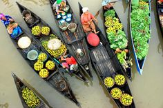 another floating market - Borneo
