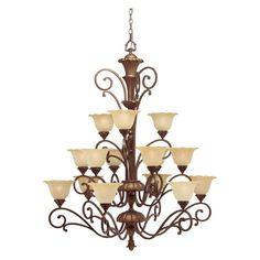 Have to have it. Kichler Cheswick 1700PRZ Chandelier - 48 in. - Parisian Bronze - $506.98 @hayneedle.com
