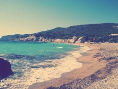 Fourni beach Rhodes Greece