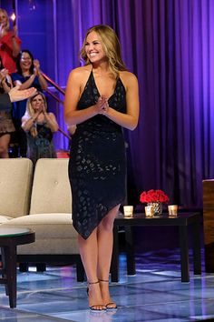 The Halter Dress I Suddenly Need Because of Hannah Brown   Celebrity Style Guide