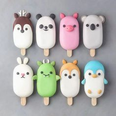 Dessert Recipes Easy - New ideas Kreative Desserts, Kawaii Dessert, Dessert Food, Dessert Ideas, Cute Baking, Cute Donuts, Cute Polymer Clay, Aesthetic Food, Food Humor