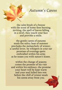 fall poems | Creative Commons Attribution-Noncommercial-No Derivative Works 3.0 ...