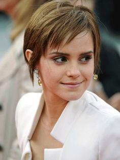Emma Watson Pixie Cut 2013