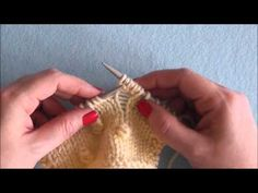 How to: Make a Bobble (for the Cables and Lace Blanket)
