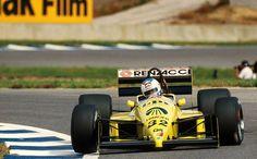 Nicola Larini  Coloni - Ford 1987