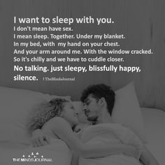 Maybe it's just me but I think that sleeping with someone is even more intimate than having sex.