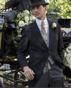 Henry Talbot Downton Abbey 6.8 bts Source: Masterpiece PBS   What a gorgeous groom! Makes me wonder what Matthew Goode wore on his'real' wedding day.  Here comes the Goode looking groom!,,