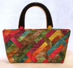 Lazy Girl Designs  » Weave A New Fabric For Your Purse Project