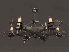 I found mysterious gothic chandelier hand blown glass evil black traditional for gothic chandeliers design httpmodtopiastudiothe aloadofball Images