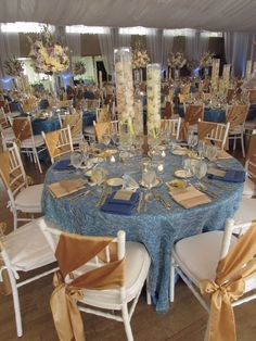 Event design by Kathy Piech-Lukas of Your Dream Day, linens by Prime Time Party Rental, flowers by Floral V Designs.