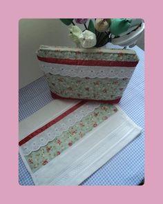 kit coleção vintage Flor de poá