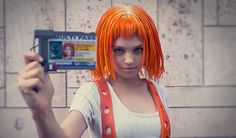 Leeloo from The Fifth Element | 30 Amazing '80s & '90s Inspired Cosplay