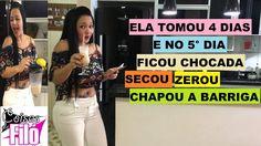 TOMEI ISSO 4 DIAS E NO 5° DIA MINHA BARRIGA SECOU-ZEROU-CHAPOU!!! FIQUEI...