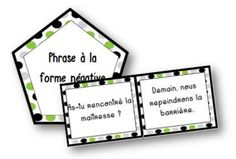 Jungle Type et Forme de phrases French Verbs, French Grammar, Class Games, Class Activities, Learning A Second Language, French Class, Teaching French, Best Teacher, Teaching Tools