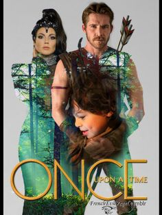 Once Upon A Time S3   Regina, Robin & Roland by frenchevilregal on Tumblr