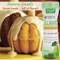 Yes, you can have it both ways! With Boresha Sweet desserts and baked goods can be diabetic-friendly, yet taste full of flavor. Use Boresha Sweet as a healthier substitute for any regular sugar or artificial sweeteners.