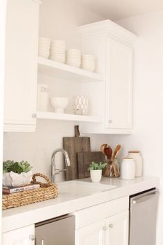 COTTAGE AND VINE: Monday Inspiration | Hardworking Butler's Pantries