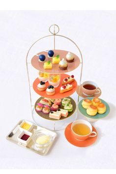 美を食で表現マンダリン オリエンタル 東京がスキンケアブランドとコラボレーションしたアフタヌーンティーを提供中
