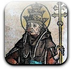 St. Hilary (Hilarius) (died 28 February 468) was Pope from 19 November 461 to his death in 468.  As pope, he continued the policy of his predecessor Leo who, in his contest with Hilary of Arles, had obtained from Valentinian III a famous rescript of 445 confirming the supremacy of the Bishop of Rome. Hilarius continued to strengthen papal control over episcopal discipline.