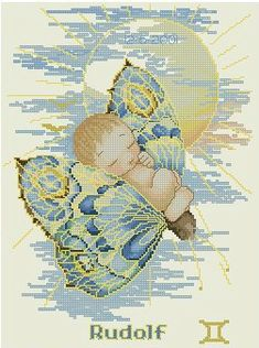 Baby Cross Stitch Patterns, Cross Stitch For Kids, Baby Chart, Cross Stitch Angels, Baby Birth, Photo Wall, Community, Embroidery, Wall Photos
