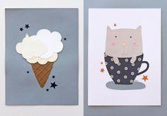 giochi di carta: Children illustrations and more...!