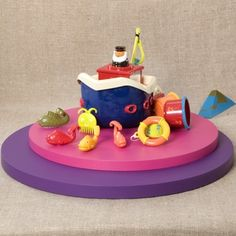 B. Curious Toys - Fish & Splish http://www.mybtoys.com/toys/curious/fish-splish/