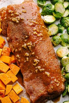 This Honey Garlic Glazed Pork Loin Roast is the BEST pork loin recipe! Enjoy juicy, succulent, fork tender pork loin with this easy method. Best Pork Loin Recipe, Boneless Pork Loin Recipes, Pork Roast Recipes, Pork Tenderloin Recipes, Meat Recipes, Rabbit Recipes, Pork Chops, Dinner Recipes, Slow Cooker Pork Loin