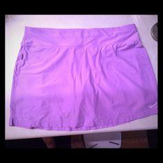 Nike DriFit Tennis Skirt Purple Nike DriFit Tennis Skirt Nike Skirts