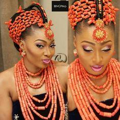 Nigerian Wedding Presents Ada's Flawless Bridal Makeover By BM Pro - Nigerian Wedding