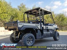 New 2017 Kawasaki Mule Pro-FX Ranch Edition ATVs For Sale in Pennsylvania. 2017 Kawasaki Mule Pro-FX Ranch Edition, 2017 Kawasaki Mule Pro-FX <p> THE KAWASAKI DIFERENCE </p> MANAGING A RANCH IS HARD WORK. TO GET THE TOUGHEST JOBS DONE, THE MULE PRO-FX RANCH EDITION SIDE X SIDE IS BUILT FOR VERSATILITY, CAPABILITY AND COMFORT AND STANDS APART WITH PREMIUM FEATURES AND STYLING. <p> Features may include: </p><ul><li>Massive Cargo Bed can fit a standard size 40'x48' pallet with the tailgate…
