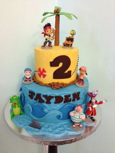 Jake The Pirate Cake | Jake and the Neverland Pirates cake