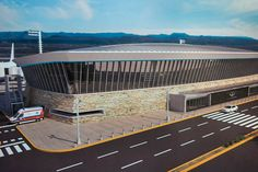 El aeropuerto de Comodoro será el más moderno de la Patagonia http://www.ambitosur.com.ar/el-aeropuerto-de-comodoro-sera-el-mas-moderno-de-la-patagonia/ El Gobernador se reunió en Buenos Aires con autoridades de la empresa concesionaria de aeropuertos. La nueva terminal de Comodoro Rivadavia será la primera de Latinoamérica certificada bajo la norma internacional LEED de arquitectura sustentable y permitirá la operación simultánea de cuatro vuelos. La inversión será