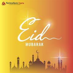 May Almighty Allah bless you all with Sehat, Rahat, Nemat, Izzat, Barkat, Daulat, Salamti, Kamyabi & Unlimited Khushiyan 😀😀...  Eid Mubarak!!  #EidAlFitr #EidMubarak #HappyEid #NetworkersGuru