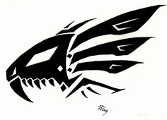 Blade liger tat Tattoo Sketches, Tattoo Drawings, Body Art Tattoos, Tribal Tattoos, Art Sketches, Tribal Moon Tattoo, Tribal Drawings, Tribal Art, Cool Drawings