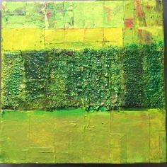 "Lynda Bleyberg. Mixed media on box canvas. 12""by 12"" For sale £250 info@lyndableybergart.co.uk"