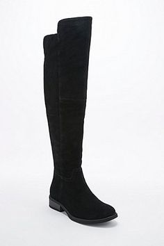 Vagabond Cary Over Knee Boots in Black - Urban Outfitters
