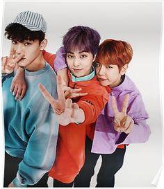 kpop, exo and baekhyun image on We Heart It Kpop Exo, Exo K, K Pop, Xiuchen, Baekhyun Chanyeol, Kim Min Seok, Kim Junmyeon, Exo Members, K Idols
