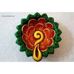 Largest Online Marketplace in India Diya Decoration Ideas, Diy Diwali Decorations, Diwali Diva, Diwali Craft, Diy Wall Painting, Rangoli Designs Diwali, Diwali Festival, Clay Crafts, Terracotta