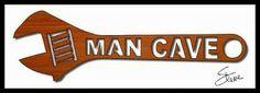Scrollsaw Workshop: 18 inch Man Cave wrench scroll saw pattern.