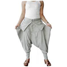 Harem Ninja Pants Trousers unique Cotton Jersey In by thaisaket, $49.00