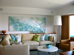 Living Room in our Hawaii Condo in Waikiki.  This place is so restful and comfortable.  I cannot wait to get back there.