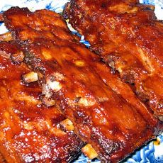 Beer Braised Baby Back Ribs - Rice Cooker Recipe
