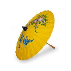 NOVICA Saa paper parasol ($27) ❤ liked on Polyvore featuring home, home decor, decor accessories, home accents, yellow, novica home decor, butterfly home decor, paper parasol, handmade home decor and yellow parasol