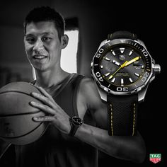 Proving he still has huge star power, watchmaker TAG Heuer signed LA Lakers guard Jeremy Lin to an endorsement deal. Jeremy Lin, Houston Rockets, Tag Heuer, Watches For Men, Men's Watches, Luxury Watches, Baby Pictures, Omega Watch, Photoshoot