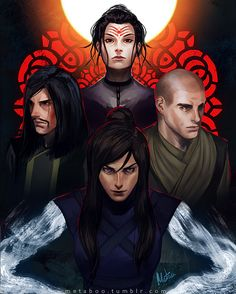 Avatar : Legend of Korra - Characters