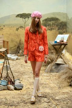 A Wes Anderson-Inspired Collection We're Crushing Over Hard #refinery29  http://www.refinery29.com/orla-kiely#slide1