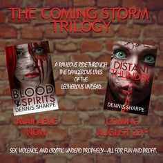 The Coming Storm Trilogy  Book One: Blood & Spirits https://www.amazon.com/Blood-Spirits-Coming-St…/…/1533598762  https://www.goodreads.com/book/show/23935117-blood-spirits  Book Two: Distant Thunder (Available August 23rd)  https://www.goodreads.com/book/show/12808305-distant-thunder